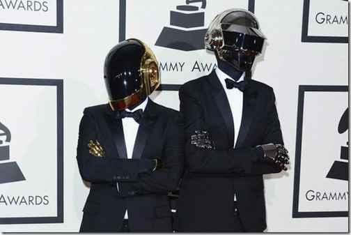 Daft Punk стали триумфаторами «Грэмми 2014»