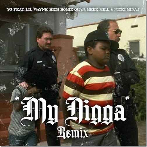 Видео: YG — My Nigga (Remix) (feat. Lil Wayne, Rich Homie Quan, Meek Mill & Nicki Minaj)