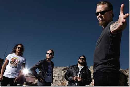 Metallica станут третьими хедлайнерами «Гластонбери»