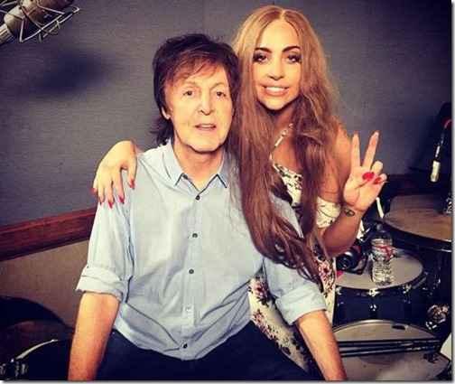 Леди Гага и Пол Маккартни записали песню для мультфильма