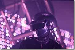 Thomas Bangalter of Daft Punk at the 2006 Bang Music Festival at Bicentennial Park in Downtown Miami.